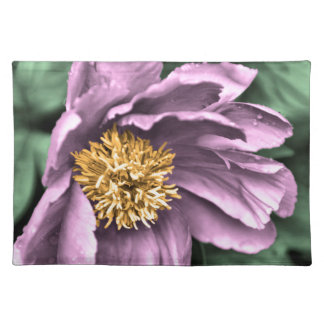 Peony Rain in Color Placemat