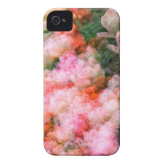Peony Tulips in Full Bloom iPhone 4 Case