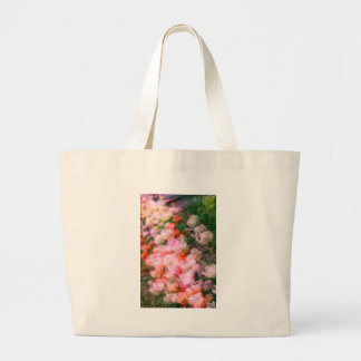 Peony Tulips in Full Bloom Large Tote Bag