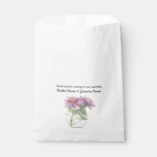 Peony Wedding Souvenirs Keepsakes Giveaways Favour Bags