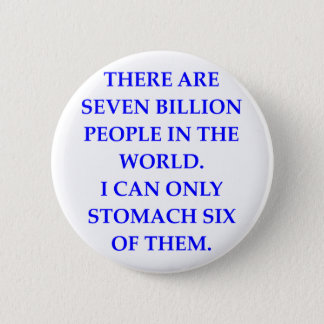 PEOPLE 6 CM ROUND BADGE