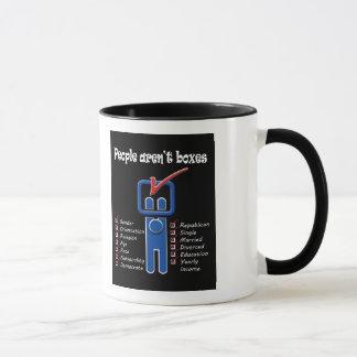 People Aren't Boxes Mug