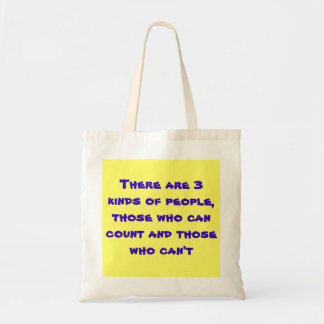 People Count ! Budget Tote Bag