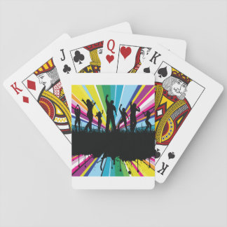 People Dancing Playing Cards