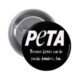People Eating Tasty Animals 6 Cm Round Badge
