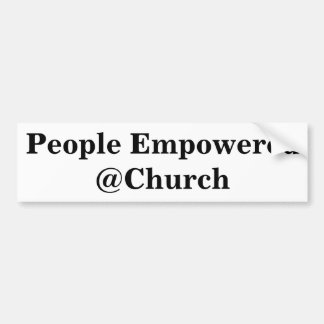 People Empowered @Church sticker