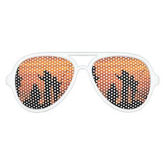 People Fishing at Breakwater Aviator Sunglasses