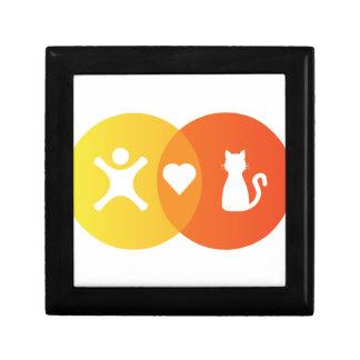 People Heart Cats Venn diagram Gift Box