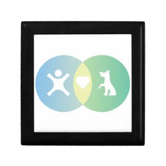 People Heart Dogs Venn diagram Gift Box