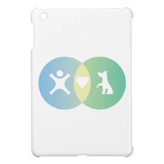 People Heart Dogs Venn diagram iPad Mini Cases