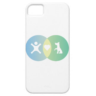 People Heart Dogs Venn diagram iPhone 5 Cover