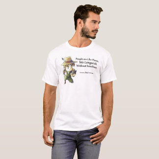 People Like Plants Male T-Shirt
