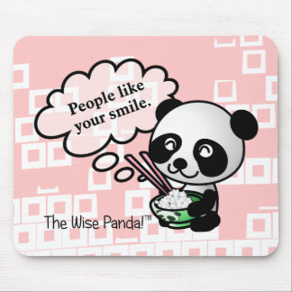 People like your smile mouse pad