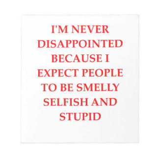 PEOPLE NOTEPAD