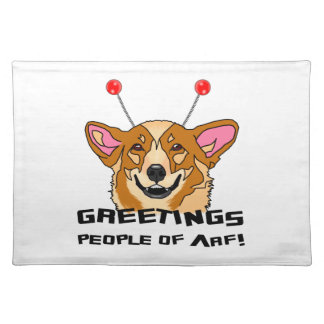 People of Arf Placemat