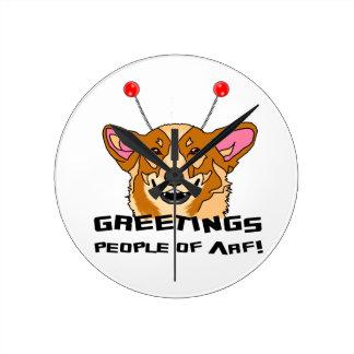 People of Arf Round Clock