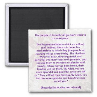 People of Jannah - Islamic Fridge Magnet