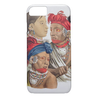 People of the Osagi Nation, from 'Le Costume Ancie iPhone 7 Case
