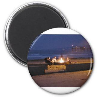 people-on-beach fridge magnets