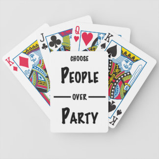 People over Party gifts Bicycle Playing Cards