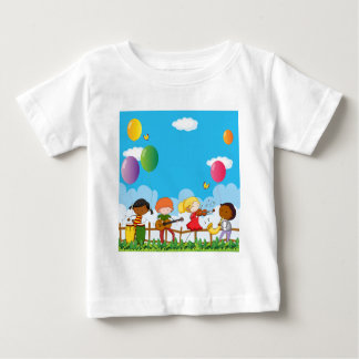 People playing musical instrument in the park baby T-Shirt
