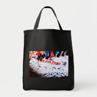 People Power Grocery Tote Bag