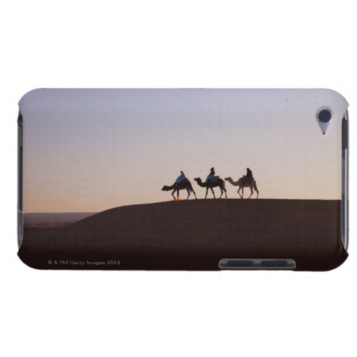 People riding camels, Morocco iPod Touch Cover