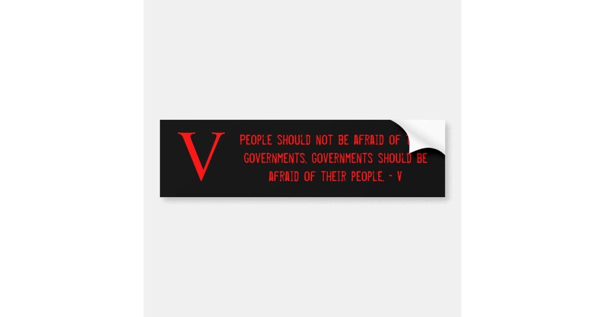 """people should not be afraid of The federal government is our servant, not our master """"when the people fear the government, that's tyranny when the government fears the people,."""