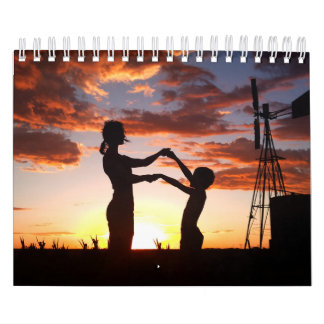 People Silhouettes Calendars