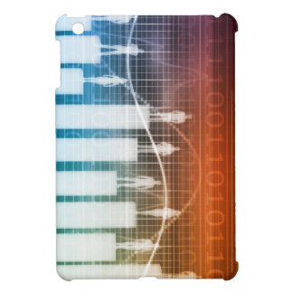 People Standing on a Bar Chart with Different Leve iPad Mini Cover
