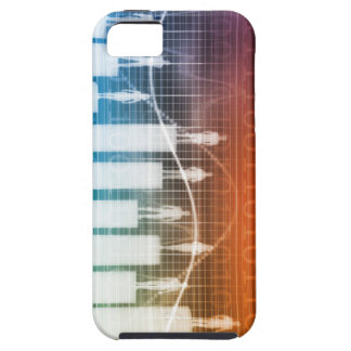 People Standing on a Bar Chart with Different Leve iPhone 5 Case
