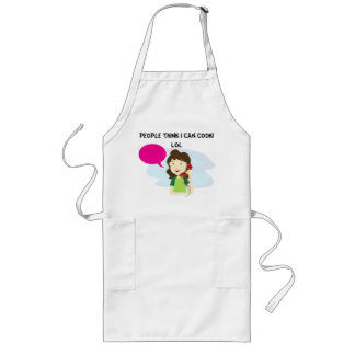 People think I can cook Funny Apron