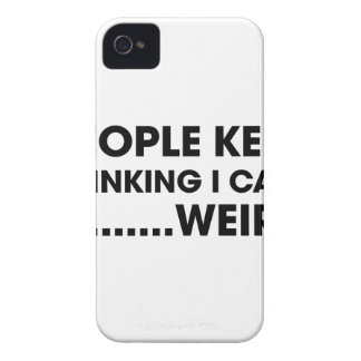 People Think I Care iPhone 4 Case-Mate Case