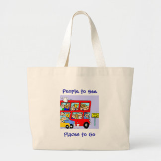People to See Places to Go Bag