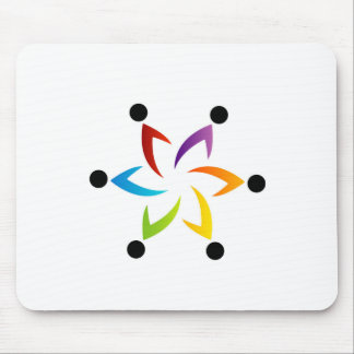 People together showing unity mousepads