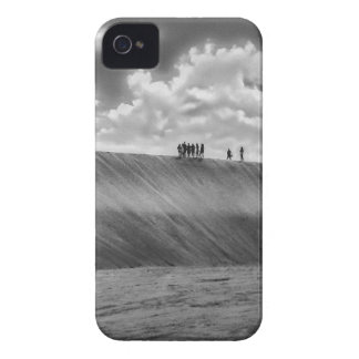 People Walking at Dune Jericoacoara Brazil iPhone 4 Case