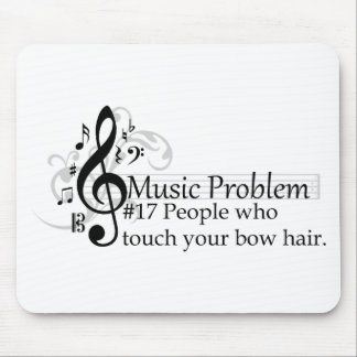 People who touch your bow hair mouse pads
