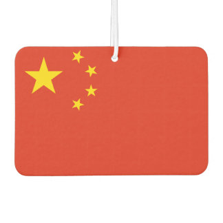 People's Republic of China National World Flag Car Air Freshener