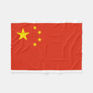 People's Republic of China National World Flag Fleece Blanket