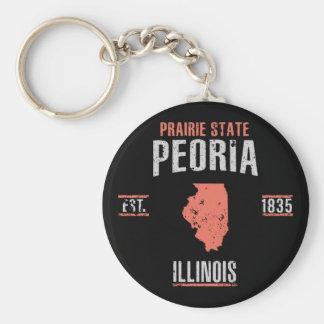 Peoria Key Ring