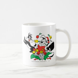 Pepe and Penelope Christmas Gift Coffee Mug