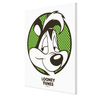 Pepé Dotty Icon Canvas Print