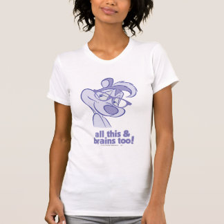 Pepe Le Pew - All This & Brains T-Shirt