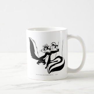 Pepe Le Pew and Penelope 2 Coffee Mug