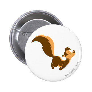Pepe Le Pew - Flying Stench 6 Cm Round Badge
