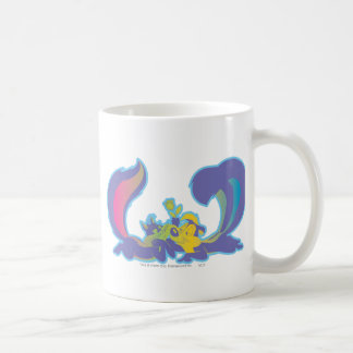 Pepe Le Pew In Love Basic White Mug