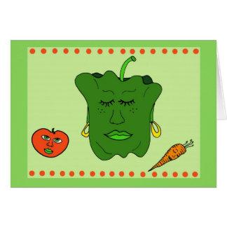 Pepper and Friends Card