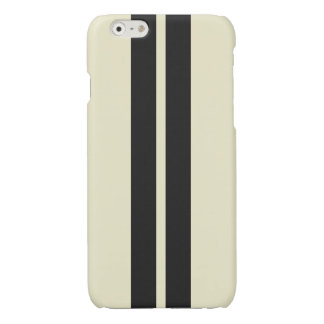 Pepper White Black Striped Any Color Simple