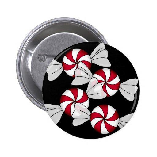 Peppermint Candies Button