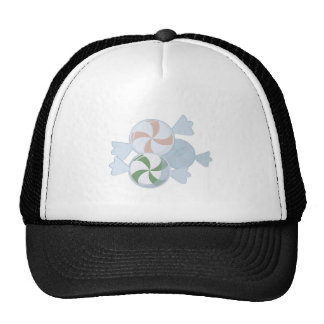 Peppermint Candies Mesh Hat